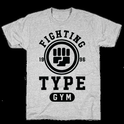 Fighting Type Gym 1996 Mens T-Shirt
