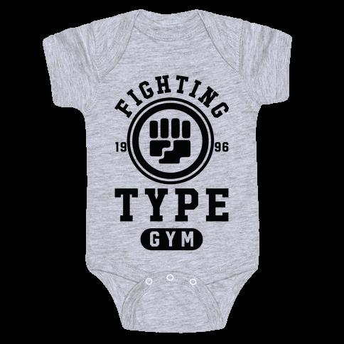 Fighting Type Gym 1996 Baby Onesy