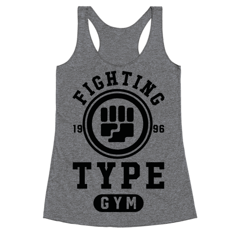 Fighting Type Gym 1996 Racerback Tank Top
