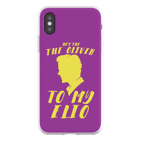 He's The Oliver To My Elio Phone Flexi-Case