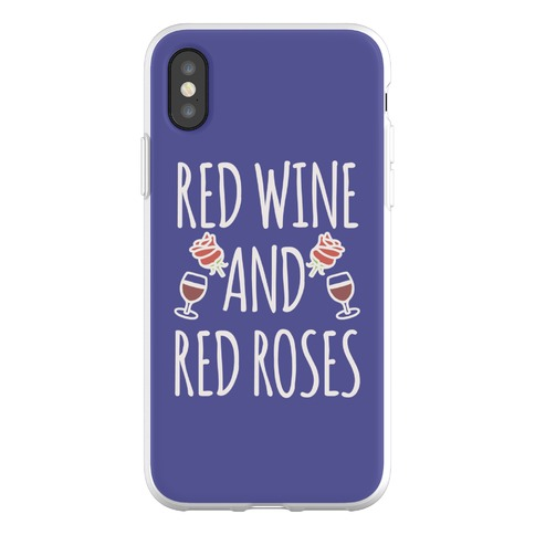 Red Wine and Red Roses Phone Flexi-Case