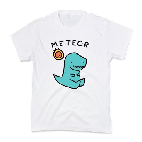 Meteor Dino Kids T-Shirt