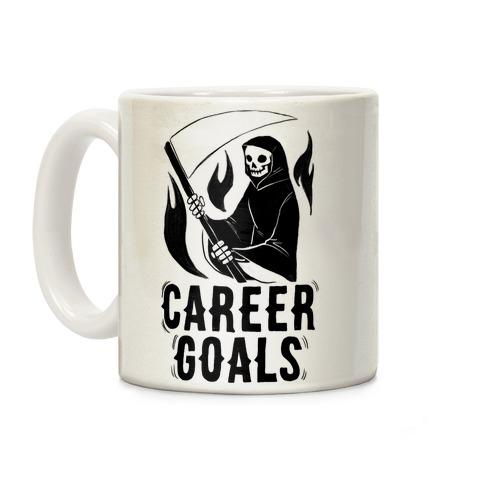 Career Goals - Grim Reaper Coffee Mug