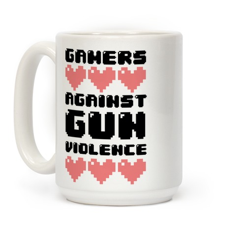 Gamers Against Gun Violence Coffee Mug
