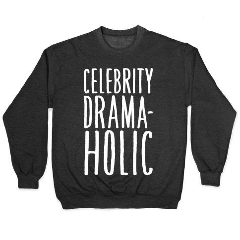 Celebrity Dramaholic White Print Pullover