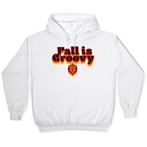 Fall Is Groovy Hooded Sweatshirt