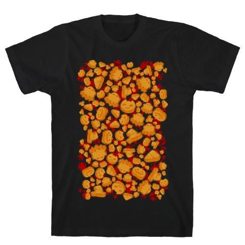 Halloween Nuggies Pattern T-Shirt
