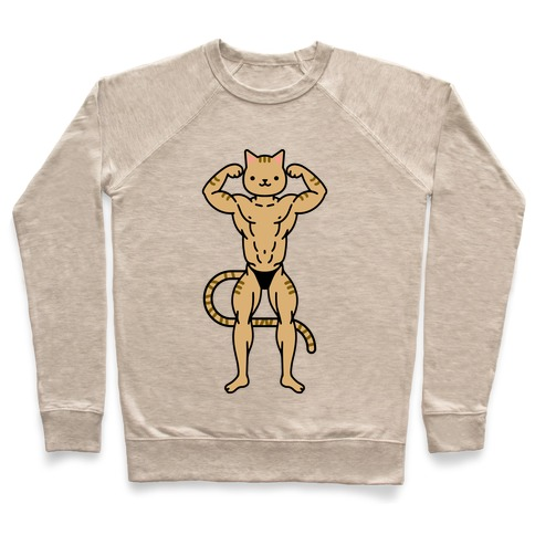 Buff Cat Orange Tabby Pullover