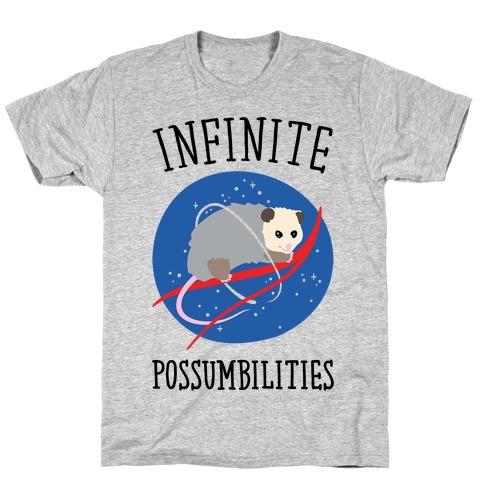 Infinite Possumbilities Parody T-Shirt