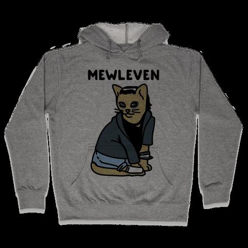 Mewleven Parody Hooded Sweatshirt