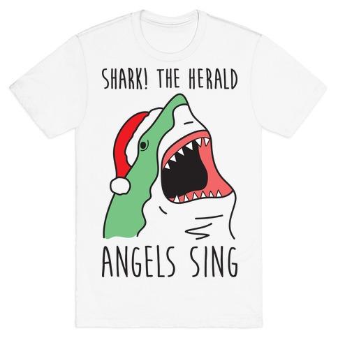 Shark! The Herald Angels Sing T-Shirt