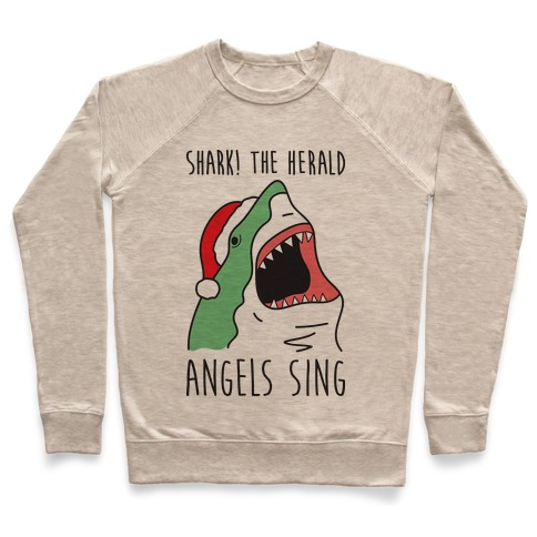 Shark! The Herald Angels Sing Pullover