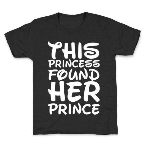 This Princess Found Her Prince Kids T-Shirt
