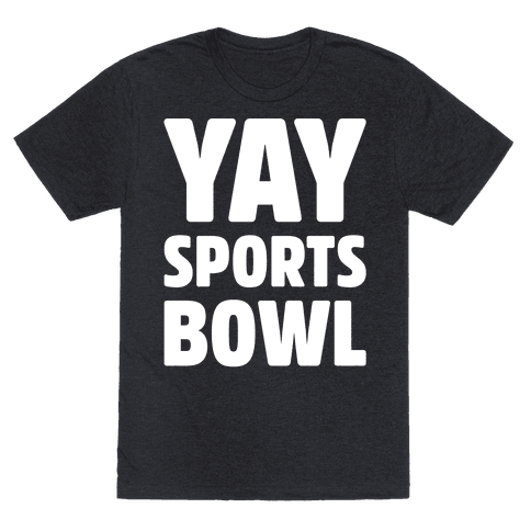 Yay Sports Bowl White Print