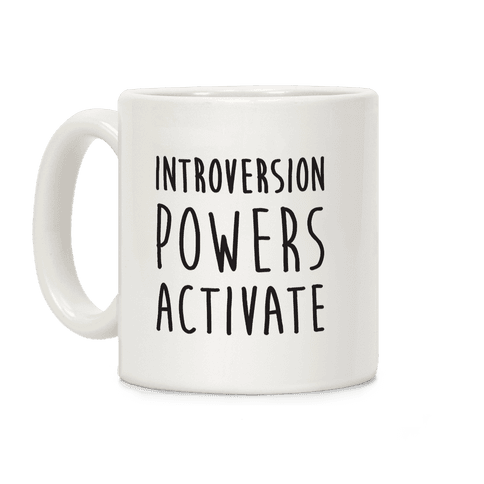 Introversion Powers Activate Coffee Mug