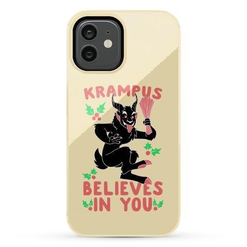 Krampus Believes in You Phone Case