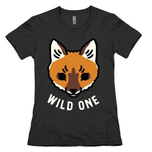 Wild One Fox Womens T-Shirt