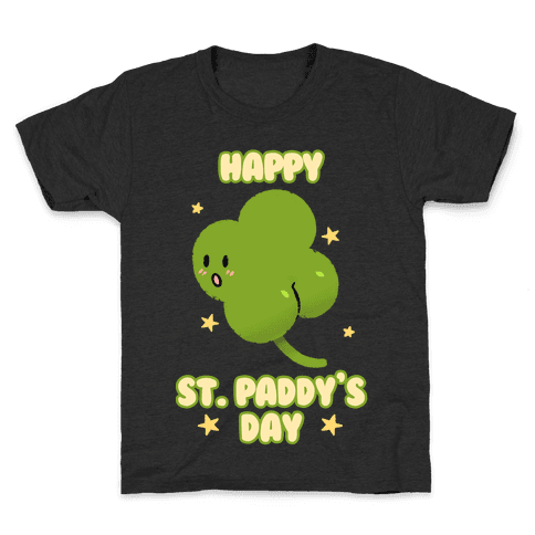 Happy St. Paddy's Day Shambutt Tee Tee Kids T-Shirt