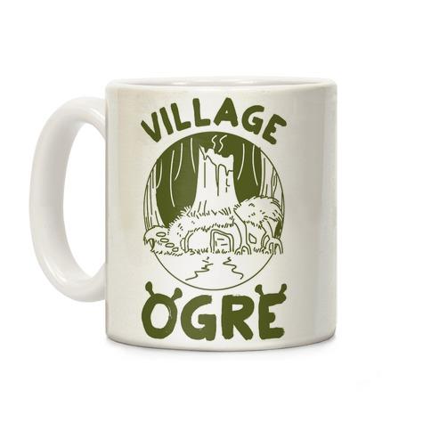 Village Ogre Coffee Mug