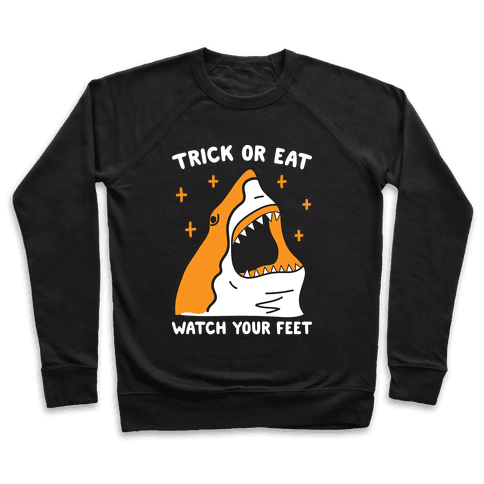 Trick Or Eat Shark Pullover