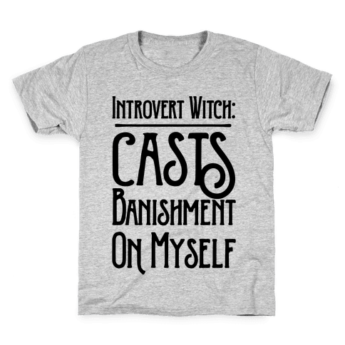 Introvert Witch Kids T-Shirt