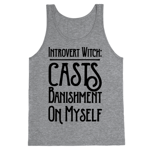 Introvert Witch Tank Top