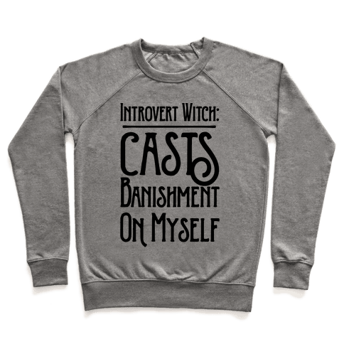 Introvert Witch Pullover