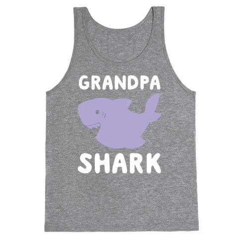 Grandpa Shark (1 of 5 set) Tank Top