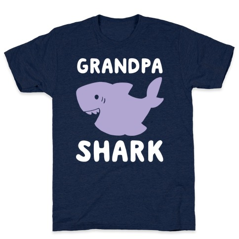 Grandpa Shark (1 of 5 set) T-Shirt