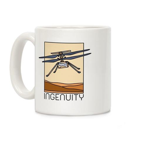 Ingenuity Mars Helicopter Coffee Mug