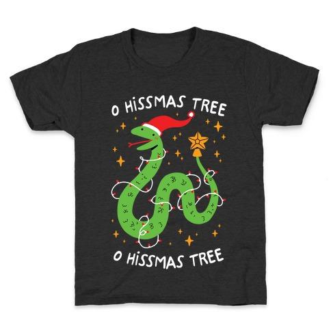 O Hissmas Tree Kids T-Shirt