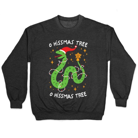 O Hissmas Tree Pullover