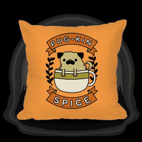 Pugkin Spice Pillow