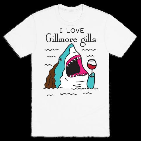 I Love Gillmore Gills Shark Mens/Unisex T-Shirt