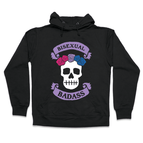 Bisexual Badass Hooded Sweatshirt