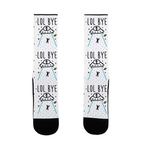 LOL BYE Sock