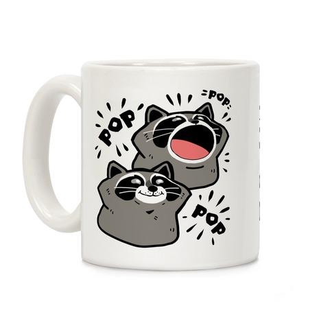 Pop Raccoon Coffee Mug