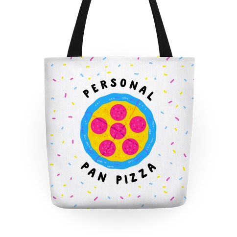 Personal Pan Pizza Tote