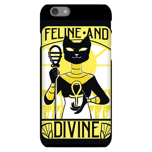 Feline Divine - Bastet Phone Case