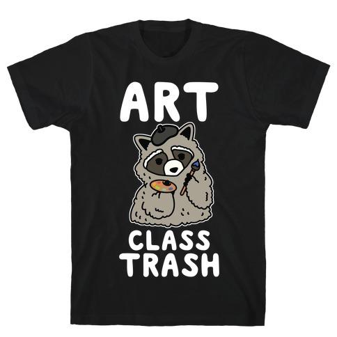 Art Class Trash Raccoon T-Shirt