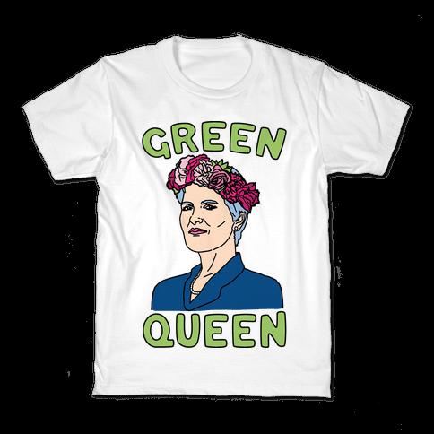 Green Queen Kids T-Shirt