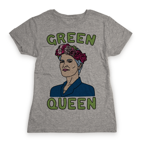 Green Queen Womens T-Shirt