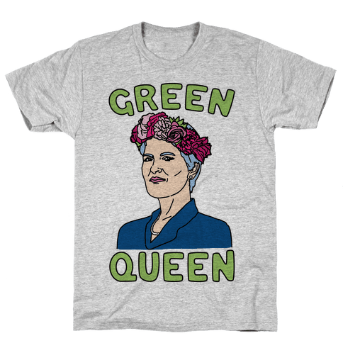 Green Queen Mens T-Shirt