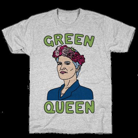 Green Queen Mens T-Shirt