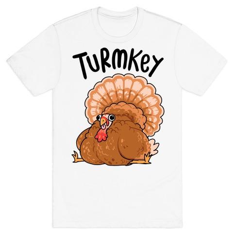 Turmkey Derpy Turkey T-Shirt