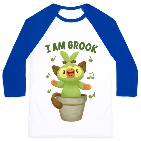I Am Grook! Baseball Tee