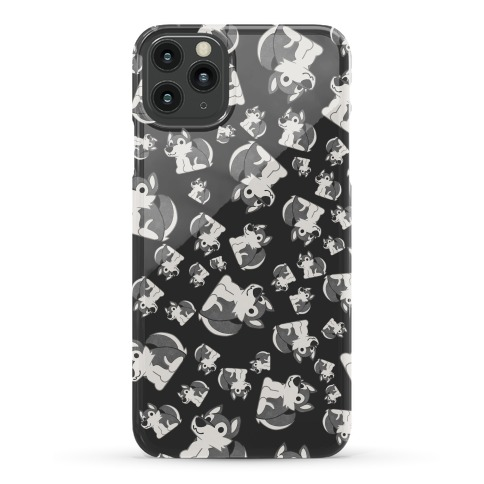 Husky Pattern Phone Case