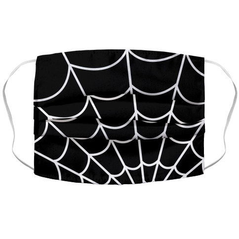 Spiderweb Accordion Face Mask