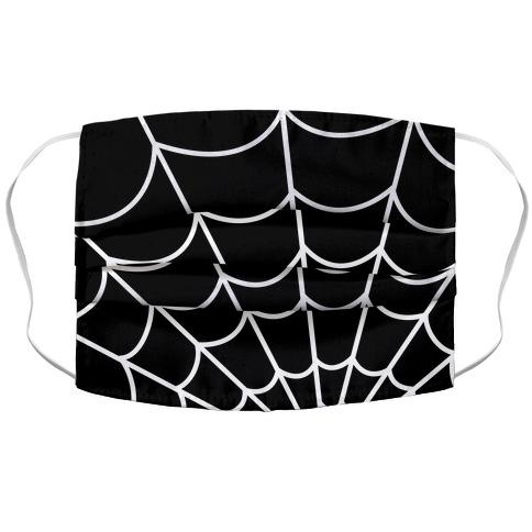 Spiderweb Accordion Face Mask