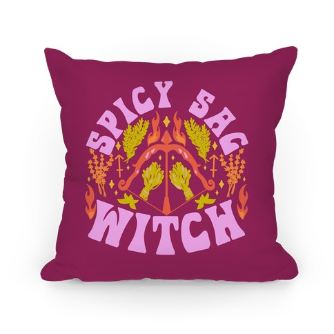 Spicy Sag Witch Pillow